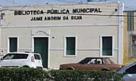Euclides da Cunha - Biblioteca Pública Municipal em Euclides da Cunha-BA-Foto:Carlos Amorim Divulg…