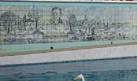 Euclides da Cunha - Painel na Praça Duque de Caxias em Euclides da Cunha-BA-Foto:Carlos Amorim Divulg…