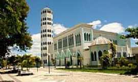 Eunápolis - Catedral N.Sra.Auxiliadora em Eunápolis-BA-Foto:hjobrasil