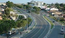 Eunápolis - Eunápolis-BA-Entrada da cidade-Foto:www.encontraeunapolis.com.br