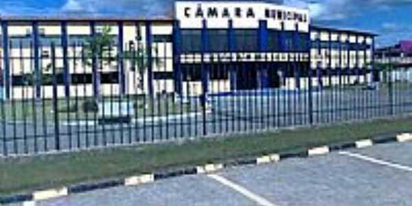 Câmara de Vereadores em Eunápolis-BA-Foto:FJSinval