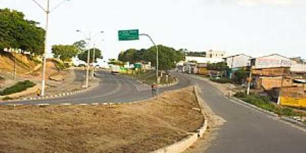 Eunápolis-BA-Entrada da cidade-Foto:Valdir Barbosa
