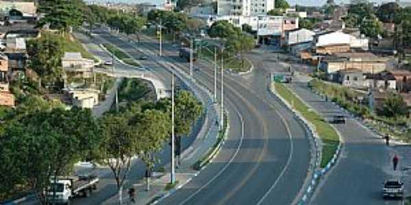 Eunápolis-BA-Entrada da cidade-Foto:www.encontraeunapolis.com.br