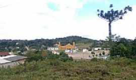 Areia Branca dos Assis - Vista da Igreja-Foto:Vinicius B. Franco