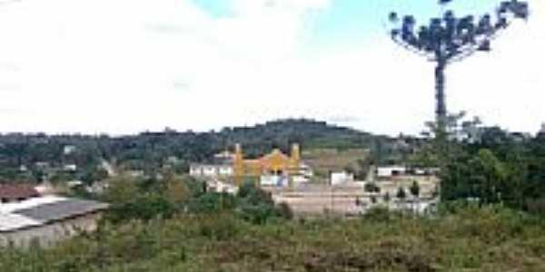 Vista da Igreja-Foto:Vinicius B. Franco