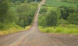 """Ariranha do Ivaí - Trecho conhecido como""""balanço""""na entrada da cidade-Foto:pelupe"""