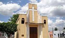 Campo Grande - Igreja de Santa Luzia[antiga Matriz]em Campo Grande-Foto:Vicente A. Queiroz