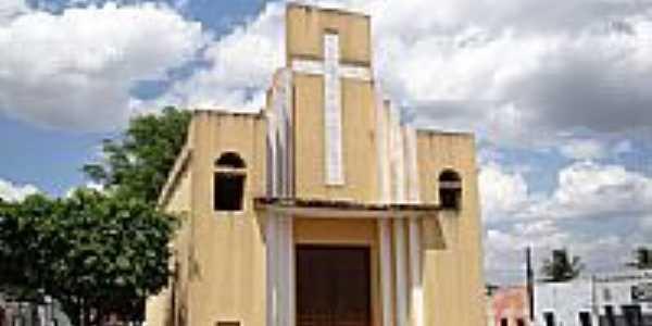 Igreja de Santa Luzia[antiga Matriz]em Campo Grande-Foto:Vicente A. Queiroz