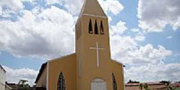 Igreja Matriz de Santa Luzia em Campo Grande-Foto:Vicente A. Queiroz