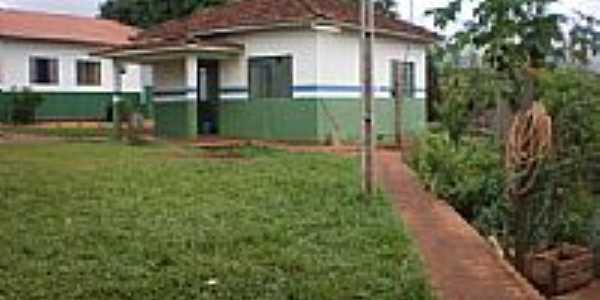 Colégio Estadual em Bandeirantes dÓeste[2]-Foto:qucebandeirantes.