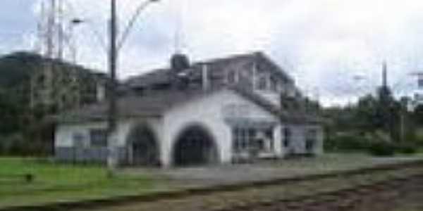 A estação em 02/2010- Foto:Ricardo Melo Araujo