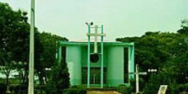 Igreja Católica do Distrito de Barão de Lucena-Foto:Edson Cavalari