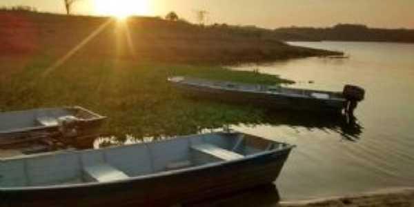 Pôr do sol a beira do rio Jacuípe, Por Anelise Marques