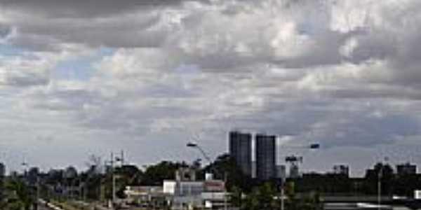 Vista parcial da cidade de Feira de Santana-BA-Foto:cerrado