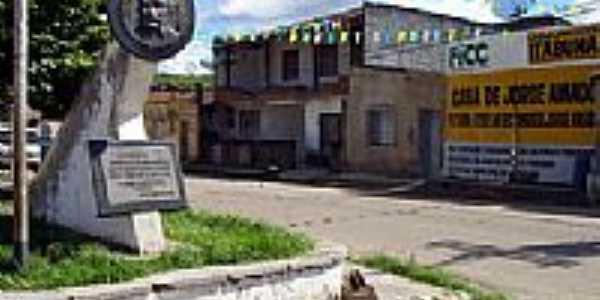 Praça em Ferradas-BA-Foto:www2.uol.
