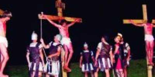 Paixão de Cristo no Acampamento Arca, Por Marcos