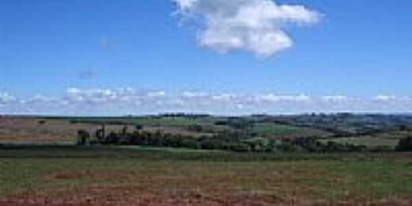 Vista da região de Bela Vista do Piquiri-Foto:Claudenir Lourençato