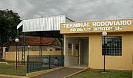 Bentópolis - Terminal Rodoviário no Município de Bentópolis-Foto:Juliane Amadeu