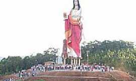 Bituruna - Estátua de Santa Bárbara por GiovaniMoreira
