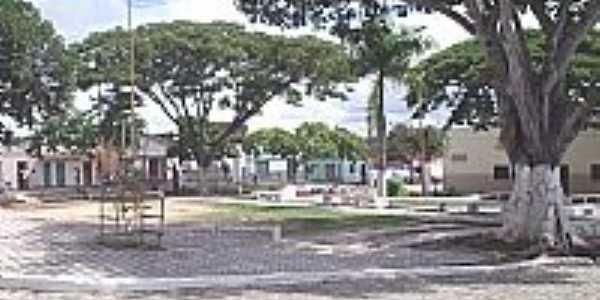 Praça no centro de Floresta Azul-BA-Foto:claudioconrado