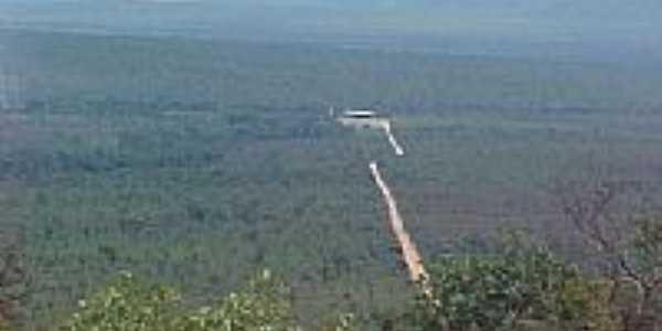 Vista da Serra Geral em Formosa do Rio Preto-BA-Foto:José Maria de Sá
