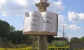 Cafeara - B´blia Sagrada na saída para Bom Jardim em Cafeara-Foto:danicafeara