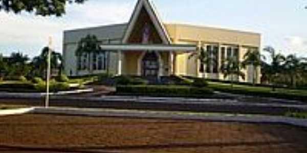 Igreja Católica de Cafelândia-Foto:Patricia Skura
