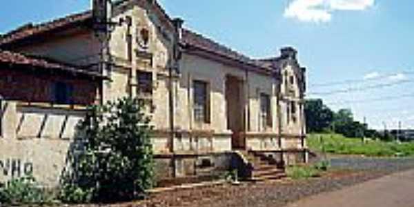 Cambará/PR-Estação Ferroviária-Foto:Fabio Vasconcelos