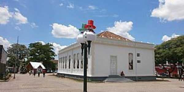 Campo Largo - Museu Municipal Decoração de Natal - Foto Lorena Mocelin