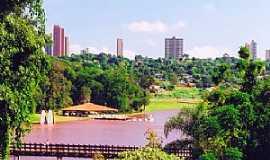 Campo Mour�o - Campo Mour�o-PR-Parque do Lago-Foto:comunidadecm.