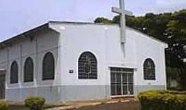 Campo Mour�o - Par�quia do Divino Esp�rito Santo em Campo Mour�o-PR-Foto:Nilson Reis Gon�alves