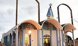 Campo Mourão - Paróquia Santuário de N.Sra.Aparecida em Campo Mourão-PR-Foto:Nilson Reis Gonçalves