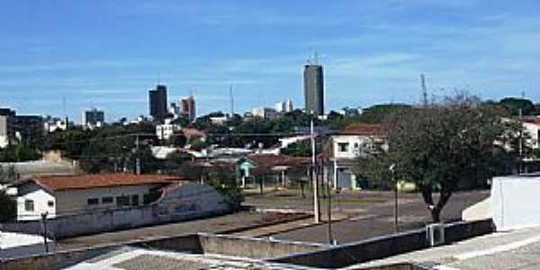Campo Mour�o-PR-Vista parcial da cidade-Foto:Marcely Benetton