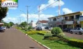 Capitão Leônidas Marques - avenida principal, Por Edimar