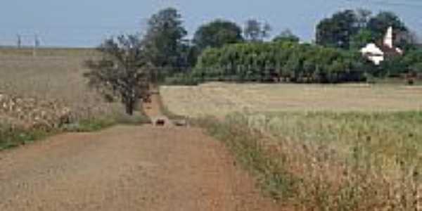 Vista da Igreja de Caramurú-Foto:josé carlos farina