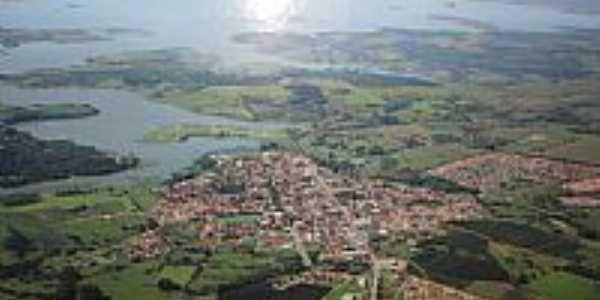 Carl�polis - PR Vista a�rea da cidade