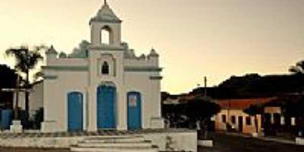 Igreja de santana em Gameleira do Assuru�-BA-Foto:Poliana Pinheiro