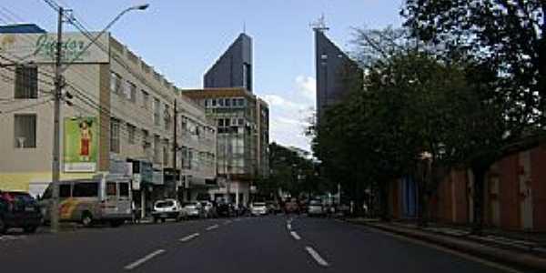 Cascavel-PR-Rua Paraná-Foto:Artemio Clides Karpinski