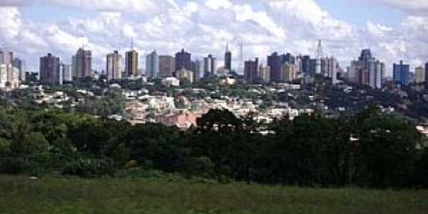 Cascavel-PR-Vista da cidade à partir da Rodovia BR-467-Foto:Artemio Clides Karpinski