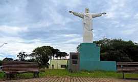 Castro - Castro-PR-Cristo Redentor no Morro do Cristo-Foto:Ricardo Mercadante