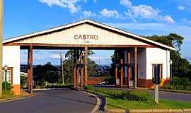 Castro - Castro-PR-P�rtico de entrada da cidade-Foto:Ricardo Mercadante