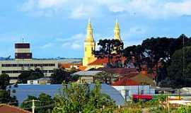 Castro - Castro-PR-Vista das Torres da Igreja de N.Sra.de Ant�Ana-Foto:Ricardo Mercadante