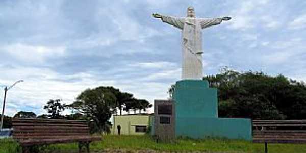 Castro-PR-Cristo Redentor no Morro do Cristo-Foto:Ricardo Mercadante