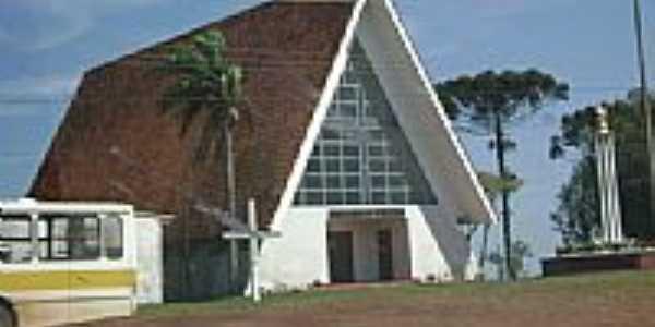 Igreja de Centralito-Foto:Artemio C.Karpinski