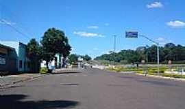 Céu Azul - Trevo de entrada-Foto:Pfahl