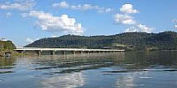 Ponte do Alagado em Chopinzinho-PR-Foto:Ueliton Sloma