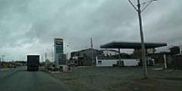 Rodovia BR-324 em Gavião-BA-Foto:PY7HF - 7ª Região2