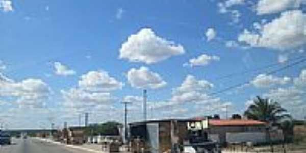 Rodovia BR-324 em Gavião-BA-Foto:PY7HF - 7ª Região