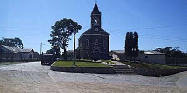 Colombo-PR-Igreja da Roseira distrito de Colombo-Foto:joão manoel granemann