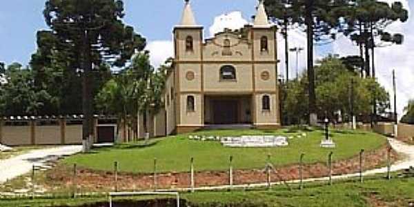 Colombo-PR-Igreja no Bairro Santa Gema-Foto:joão manoel granemann